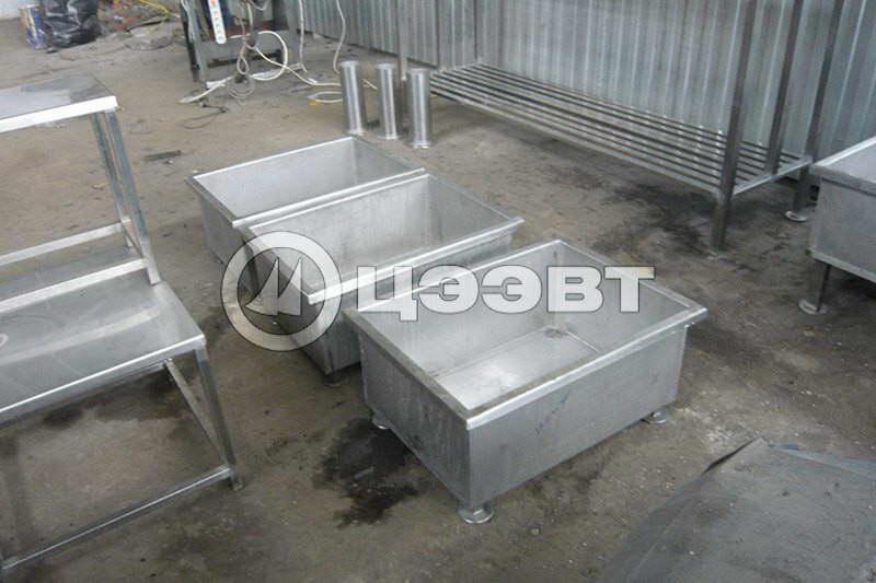 Металлоконструкции из нержавеющей стали на заказ. Рис. 4