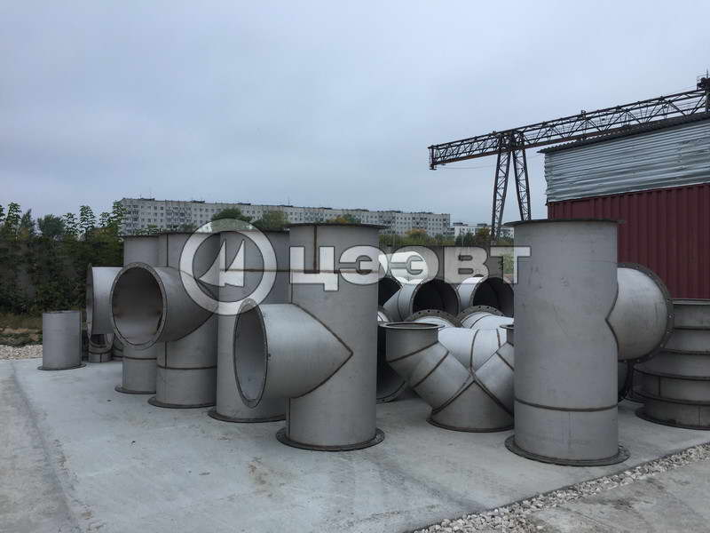 Газоходы и детали трубопроводов рис.6