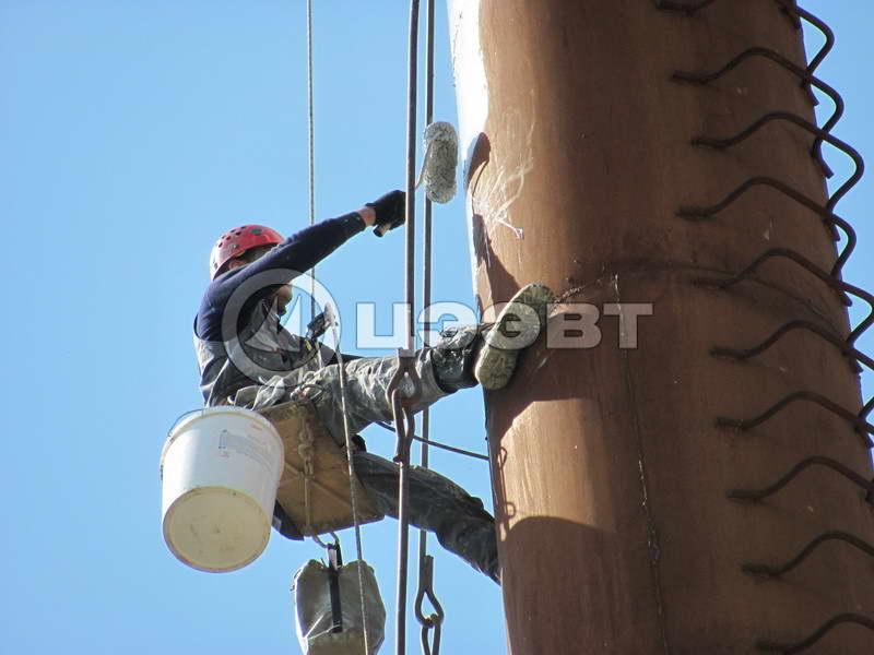 Обслуживание металлического газохода котельной